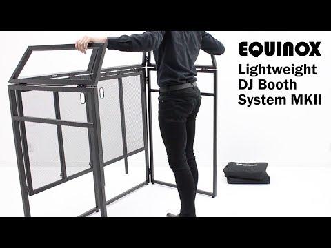 Equinox Aluminium Lightweight DJ Booth System MKII