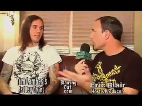 AS I LAY DYIING & Austrian Death Machine's TIM talks with Eric Blair part #1