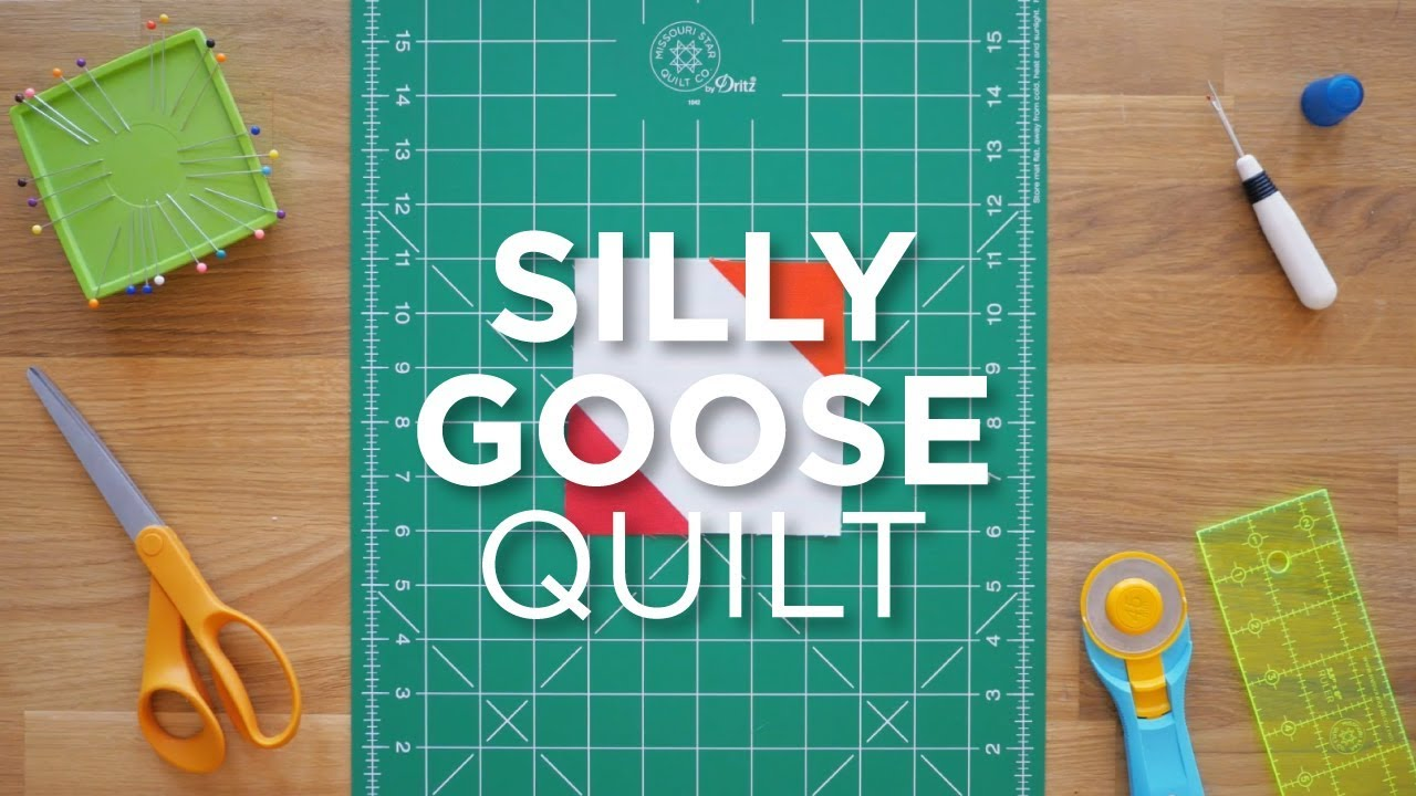 Quilt Snips Mini Tutorial - How to Make a Silly Goose Quilt Block ... : silly goose quilt pattern - Adamdwight.com