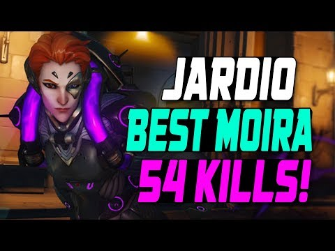 JARDIO PRO MOIRA! [ OVERWATCH SEASON 11 TOP 500 ] thumbnail