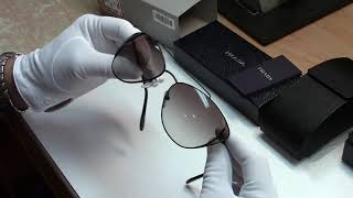 Пара минут на обзор: Женские солнцезащитные очки Prada OPR 65VS