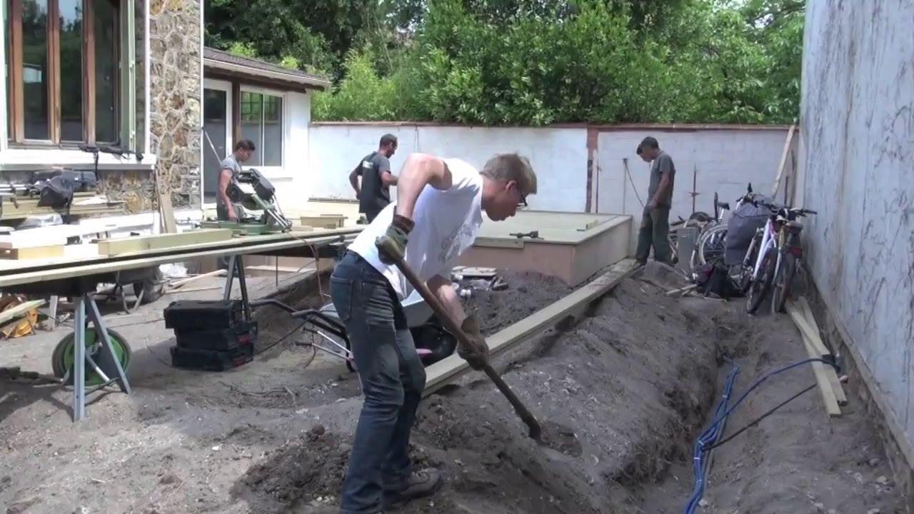 Construire Une Terrasse En Bois Surelevee terrasse surélevée + abri de jardin - albizia créations