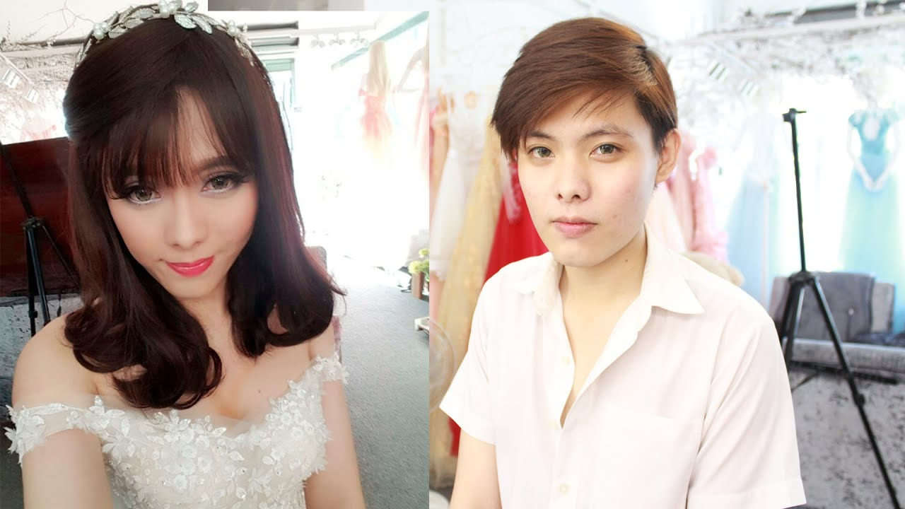 Bride Makeup Transformation Boy To Girl Makeup Youtube