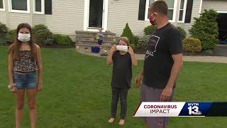 Coronavirus: Face mask tips for kids