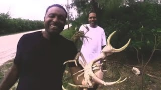 The Good Life Tv Show |  Catching Crabs in Andros 2018 - Mangrove Cay, Andros Island