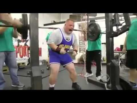 Power Lifter with Down Syndrome