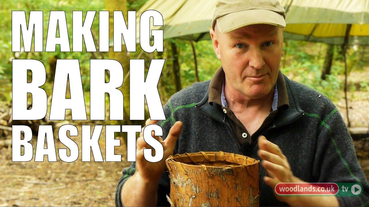 Making Bark Baskets
