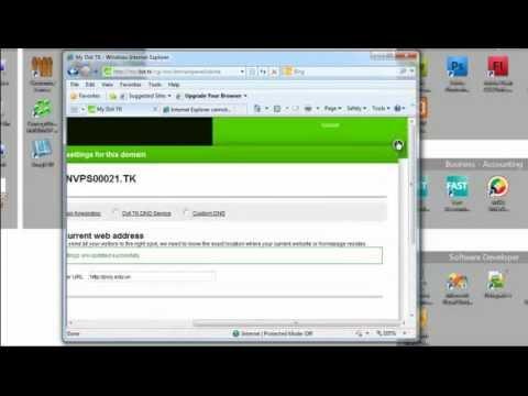 Hướng dẫn đăng ký tên miền và hosting FREE