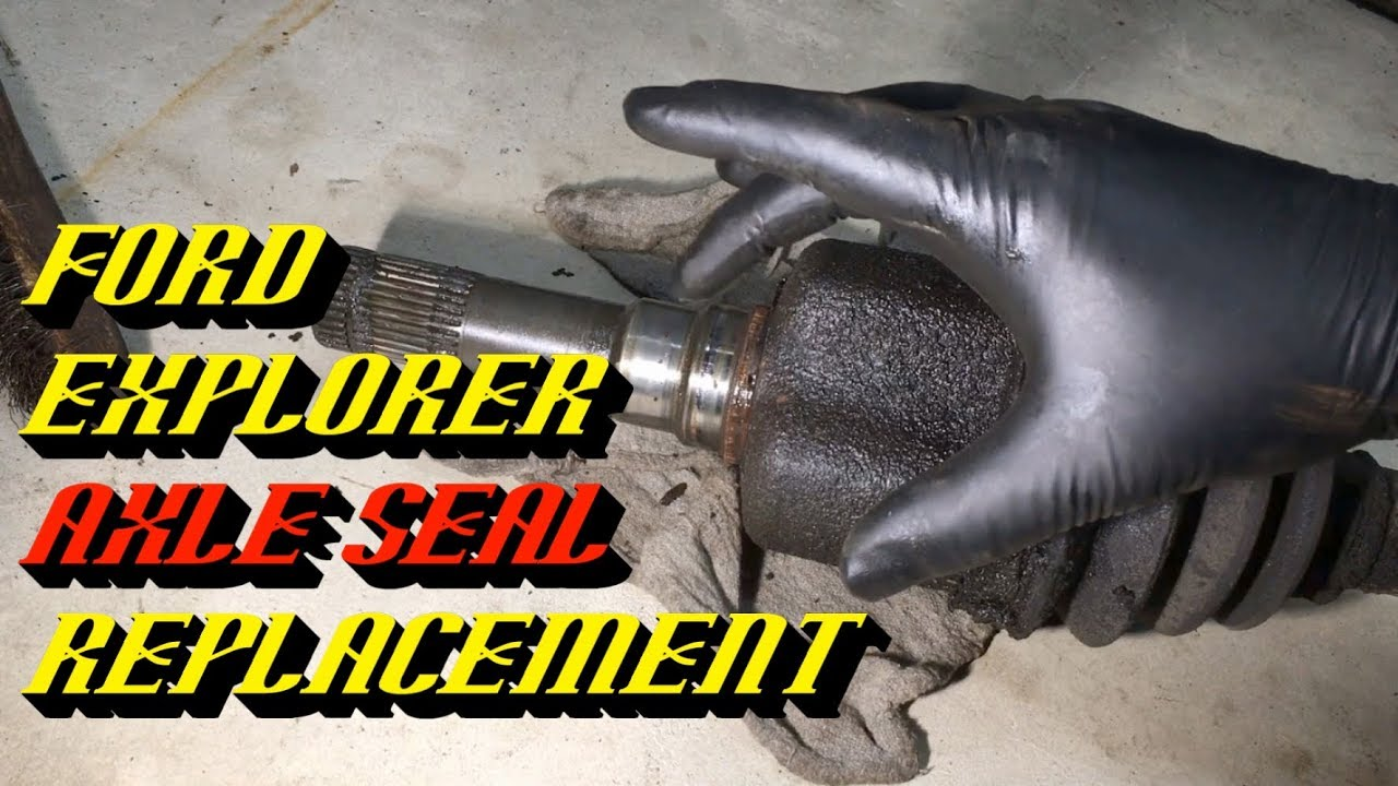 small resolution of 2002 2005 ford explorer 8 8 rear axle seal replacement