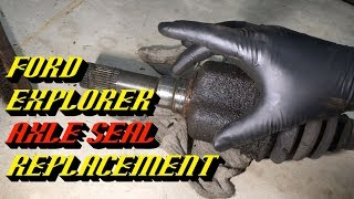 """2002-2005 Ford Explorer: 8.8"""" Rear Axle Seal Replacement"""