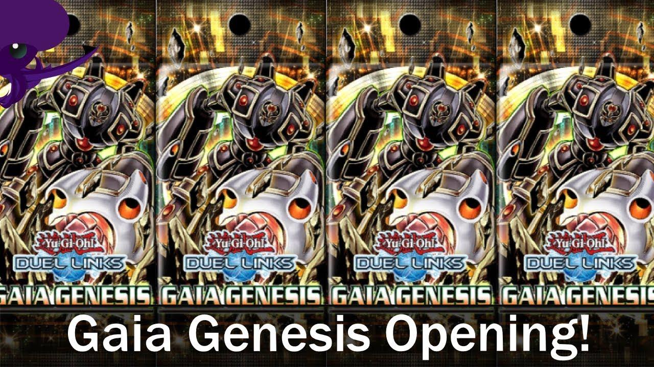 Gaia Genesis Pack Opening!