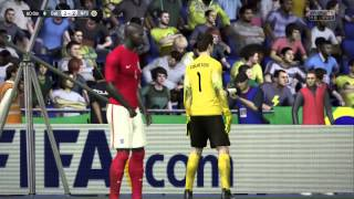 FIFA 15 AndY Carroll wonder goal