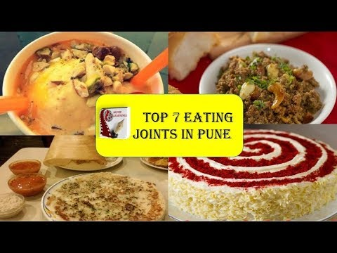 Best places to Eat in Pune | Pune Street Food | Best Restaurant in Pune | Indian Street Food |