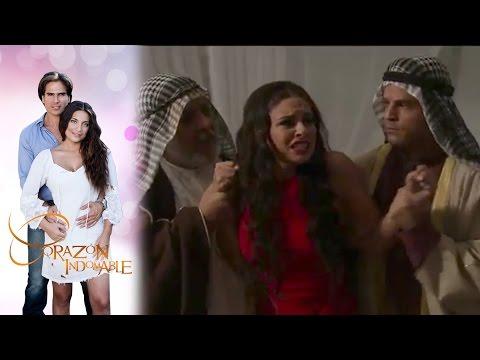 Octavio salva a Maricruz | Corazón indomable - Televisa
