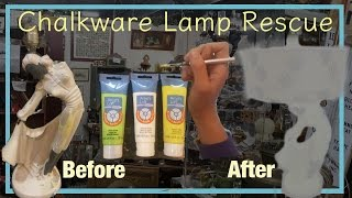Chalkware Lamp Rehab - Buy, Sell, Profit - Antiques Reselling