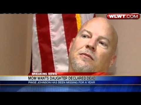 Mom Wants Paige Johnson Declared Dead