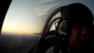 Late Afternoon Aerobatic Hop In The Cj-6a