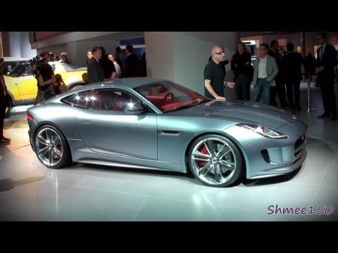 Jaguar C-X16 Concept - Frankfurt IAA Motorshow 2011