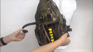 Hunting backpack, small hunting backpack, fishing backpack, ideal tree stand backpack