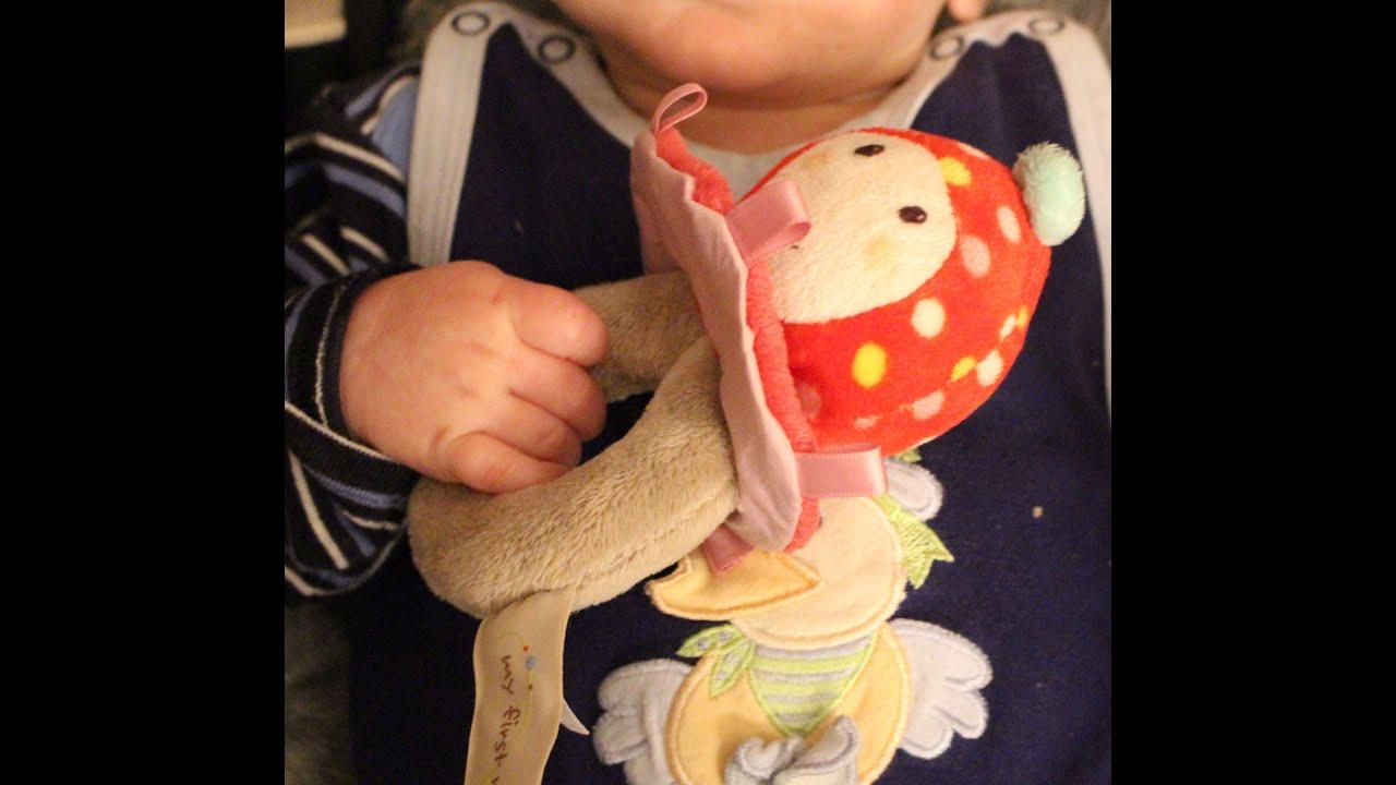 Babyspielzeug im test my first nici greifring