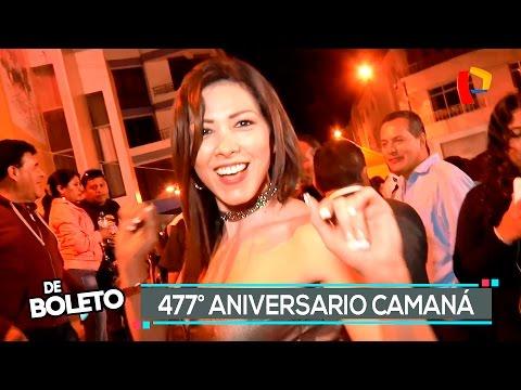 477° Aniversario de Camaná - De Boleto