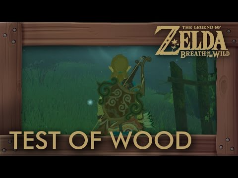 Zelda Breath of the Wild - The Test of Wood Shrine Quest