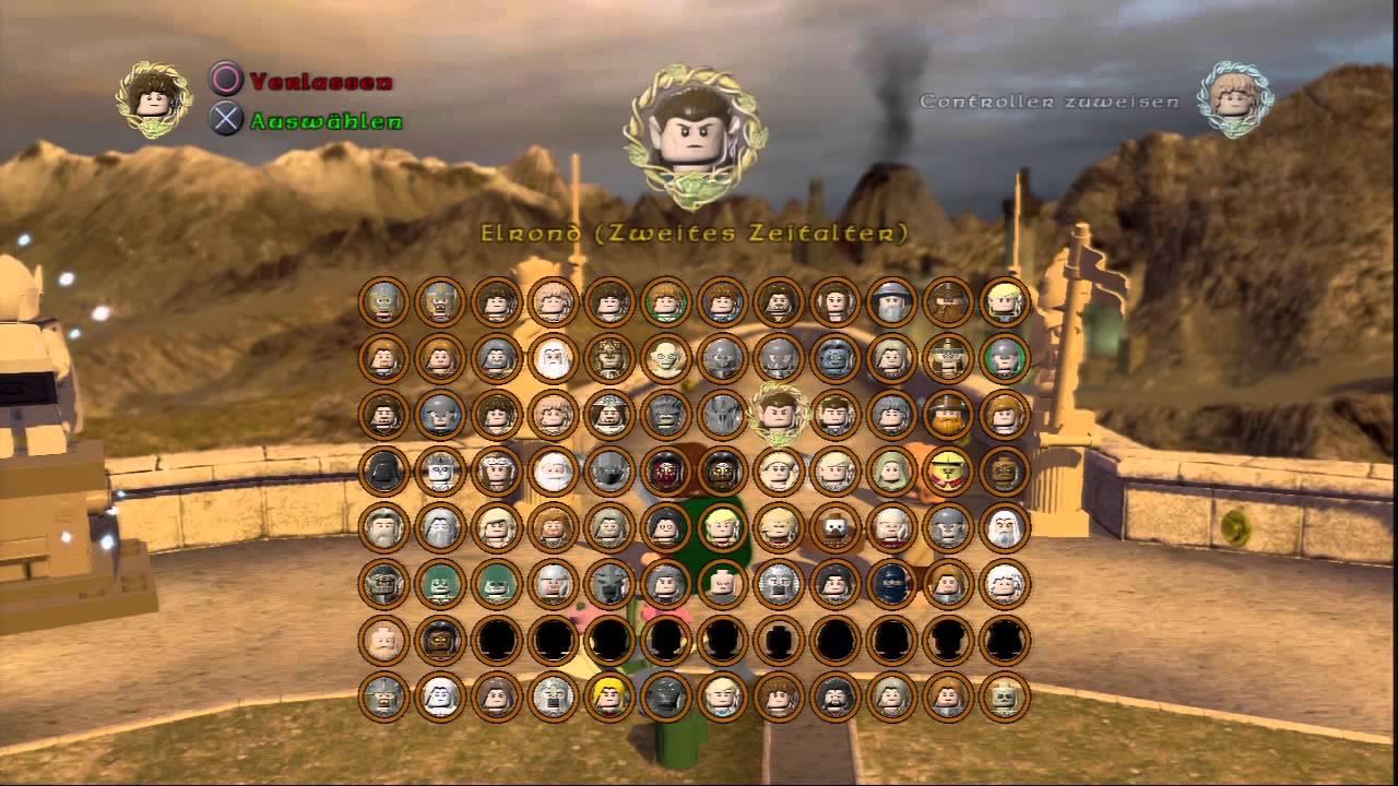 Lego Der Herr Der Ringe Alle Charaktere