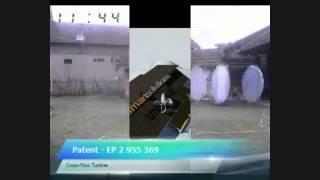 H2O2 Cross-flow Turbine / Test drive