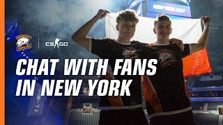 Amazing VP fans at ESL ONE New York 2017. Autograph session with CS:GO team