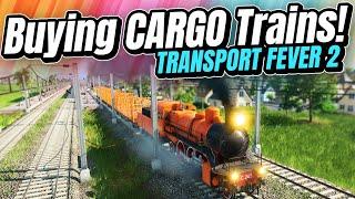 We're FINALLY Building a CARGO TRAIN Line! | Transport Fever 2 (Part 8)