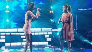 Renata Sabljak & Ivana Kindl - When You Believe [zvijezde pjevaju 2011]