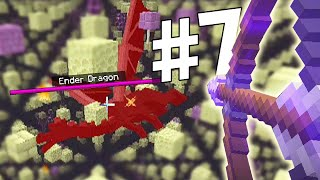 DUELIN NAGA DI BLOCK JARING-JARING - Minecraft Indonesia Skygrid Survival #7