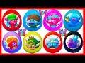 8 huevos sorpresa de trolls con juguetes de la pelicula Trolls para niños y niñas huevos sorpresa de