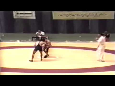 1994 Takhti Cup: 62 kg Marty Calder (CAN) vs. Anoshervan Rezaei (IRI)