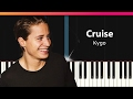 Kygo Cruise Ft Andrew Jackson EASY Piano Tutorial Chords How To Play Cover mp3
