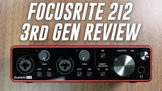 Focusrite Scarlett 2i2 (3rd Gen) USB Audio Interface Review / Explained