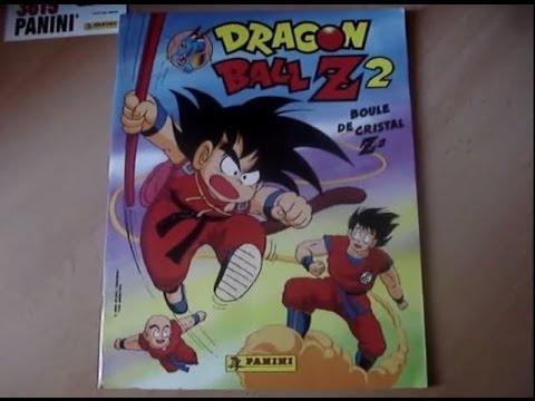 Dragon ball z 2 boule de cristal z 2 album sticker panini fr dbz n2