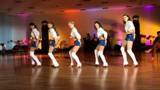 2014.05.02 - Kizomba Ladies Show at Latvian Sensual Dance Festival 2014