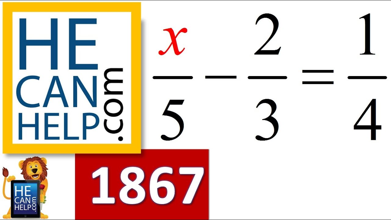 1867 {HECANHELP.COM USA} Solve for x Solving Linear Equation (with ...