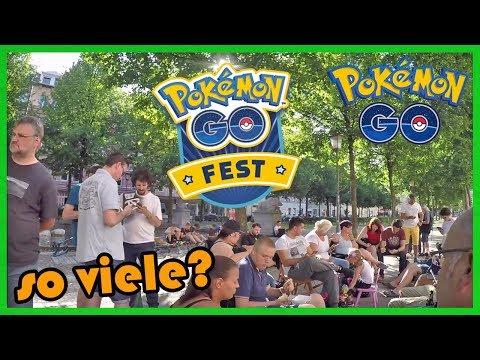 Pokemon Go Fest FAIL?! farmen mit den Jungs & Zuschauern! Pokemon Go!