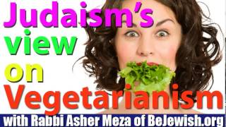 Vegetarianism in Judaism