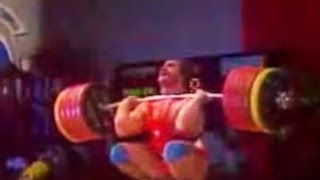 Anatoly Pisarenko — 1981 World Weightlifting Championships, +110 kg class.