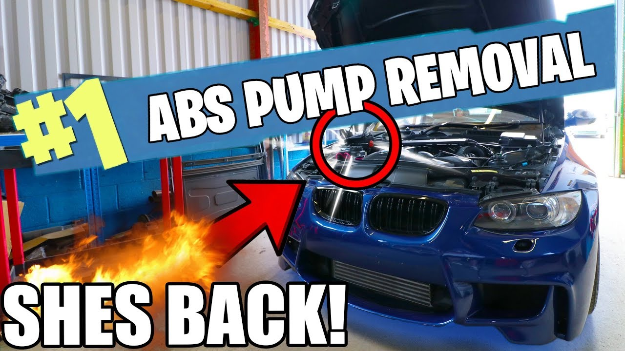 *SERIES* FIXING THE BMW 335i - ABS PUMP REMOVAL *PART 1*