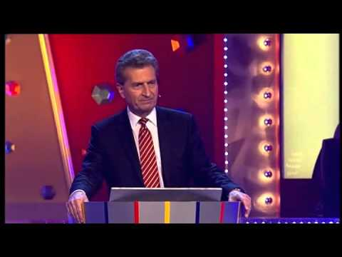 Günther Oettinger - Wider den Tierischen Ernst 2014