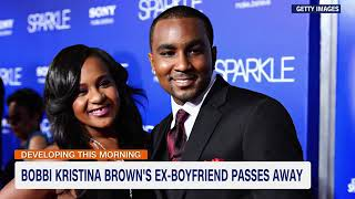 Nick Gordon, the former boyfriend of Bobbi Kristina Brown, dies at 30