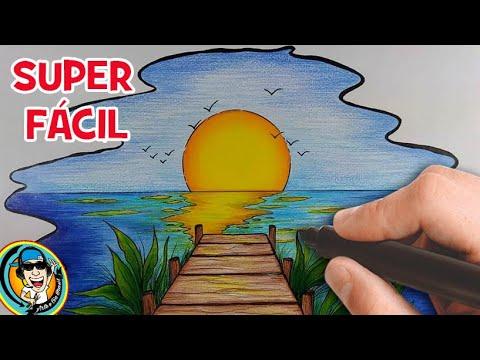 Download Como fazer desenho de Paisagem super Fácil - passo a passo #arteeciabrasil 2021