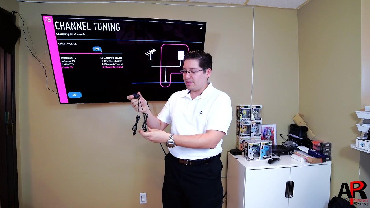 EZ Digital TV Antenna & Amplifier - Installation & Review