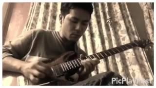 マイケルジャクソン/BEAT IT エディヴァンヘイレンのギターソロを弾いて...