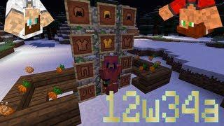 Minecraft 1.4: 12w34a: Cadres, Carottes, Armures Colorées, ... - Tibo et Emilien