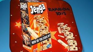 Обзор настольной игры Дженга классическая/Review of the  board game Jengа classic